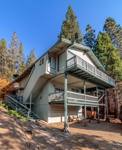 Photo for Lake Home has great view of Bass Lake, with boat slip, sleeps 12