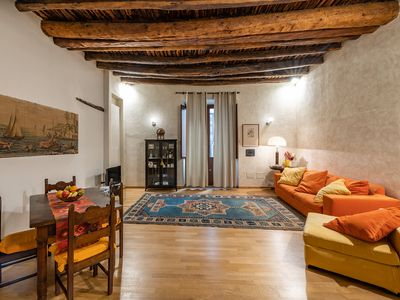 Photo for Ancient apartment in the historic center of Cagliari