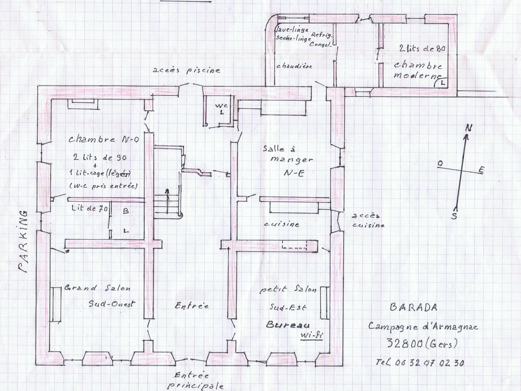 Plan maison de maitre for Plan maison de maitre