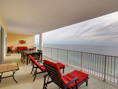Photo for Massive Entertainment Space and Gulf Front Balcony