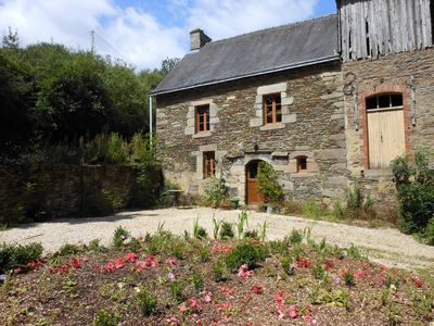 The Mill-house. (The Cottage is located behind the Mill-house)
