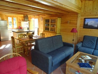 Photo for Chalet Pralognan-la-Vanoise, 3 bedrooms, 6 persons