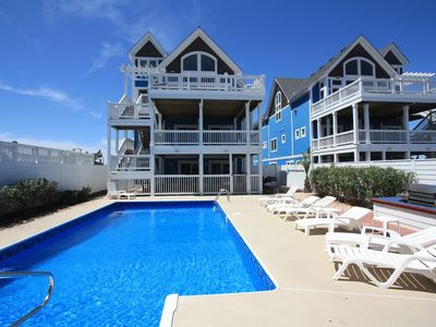 Photo for Park Place: Land on Park Place and bring your pet! Great pool,hot tub, elevator and oceanfront!