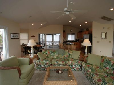 Photo for Ocean Block, Spacious and Beautifully Appointed, 3 Decks Sleeping Up to 12 w/Free Golf and More!