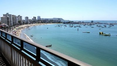 Malecon from the balcony