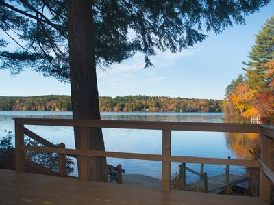 Waterfront Vacation Home For Up To 8 Guests. Canoe, Swim, Ski, and Have Fun.