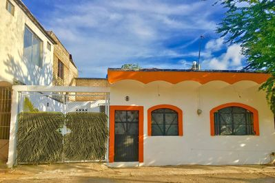 Front view of Casita.