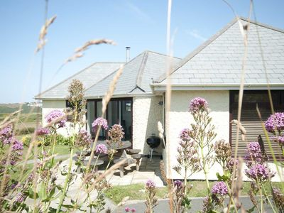 Photo for PENTREATH, pet friendly, with open fire in Crantock, Ref 983145