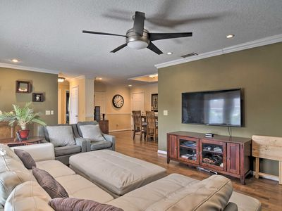 Photo for Upscale Home w/ Fire Pit <11 Miles from Lido Key!
