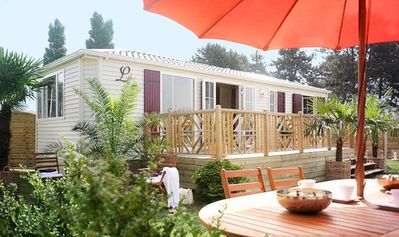 Photo for Siblu Camping Le Bois Dormant **** - Mobile home Elegance 3 Rooms 4/6 People