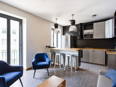 Photo for Industrial style flat in Port district at the heart of Nice - Welkeys