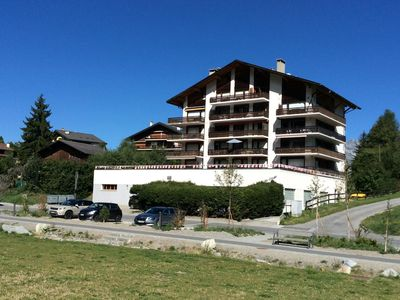 Photo for Haute Nendaz (4 Vallee)  Luxury 2 bed apt with pool and sauna