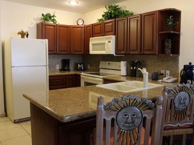 Photo for SW 108 Beautiful 2 bed 2 bath ocean front ground level unit at the Sonoran Sun