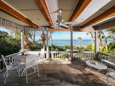 Photo for Beachfront Charm on Quiet Secluded Manasota Key - Direct Gulf Front