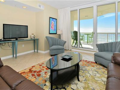 Photo for Beach View Condo: Walking distance to restaurants! Family Friendly! 2 KING BEDS!