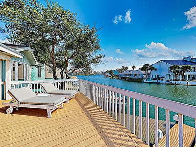 Photo for New Listing! Remodeled Waterfront Home in Key Allegro w/ Pool - Near Beach
