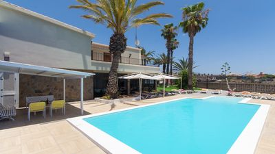Photo for Beautiful Spacious 9 Bedroom Villa. Set in beautiful canarian style gardens.