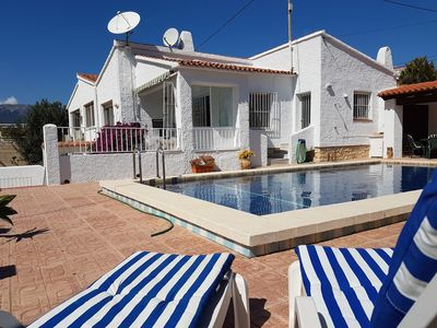Photo for 7 bedrooms villa with private pool 300 meters from the beach