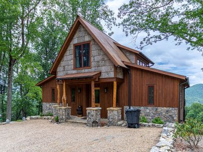 Photo for Bear Tracks- Eagles Nest amenities, Hot Tub, Fire Pit, amazing views