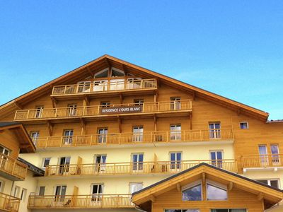 Photo for Pleasant residence with indoor swimming pool in the heart of Les Deux Alpes