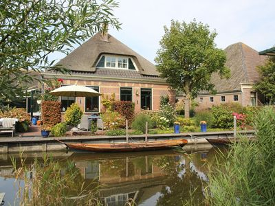 Photo for Spacious family house on islet with large garden, close to beach and Amsterdam