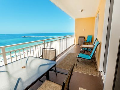 Photo for Snowbird-friendly getaway w/ beach views, shared pool, & fitness center