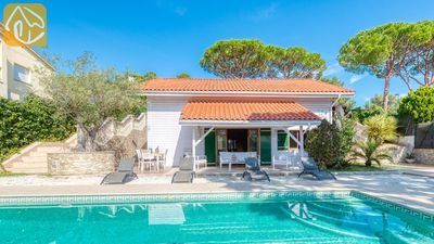 Photo for Lloret de Mar Villa, Sleeps 8 with Pool, Air Con and WiFi