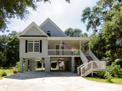 Photo for Nature's Touch - Edisto Island Retreat on Scenic Edingsville Beach Road