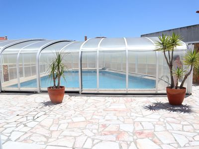 Photo for Dii Beach House with private pool by the sea and countryside