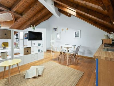Photo for ♣Modern Wooden Attic in Isola♣