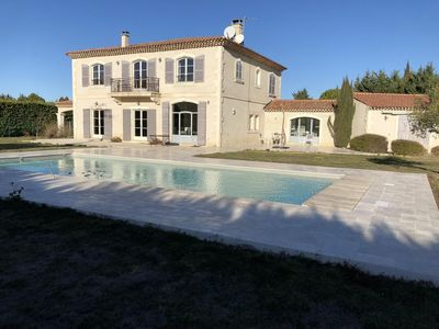 """Photo for BASTIDE 320M² WITH PRIVATE POOL, """"village on foot"""", 12 People"""