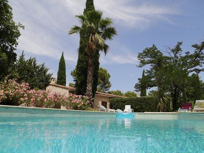 Photo for 12-20 Pers. Family house Very quiet and secluded On 2 Ha Keyboard (Var)