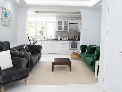 Photo for 2 BR Nature House with Garden in Kadikoy