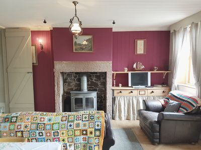Photo for Field View Cottage. Situated on Solway estuary, with beautful views.