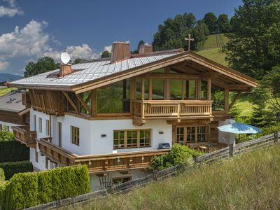 Photo for Beautiful chalet/ holiday home/in the mountains/ski slope of Kitzbühel