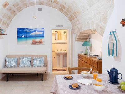 Photo for Casa Adria, typical ground floor house in Monopoli city center, A/C, Wi.Fi