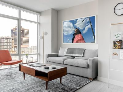 Photo for Refined 1BR | Lounge | City Center by Lyric