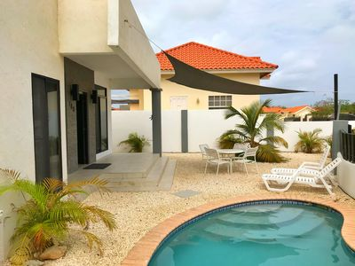 Photo for Beautiful home close to all the entertainment & Aruba's beauiful white beaches