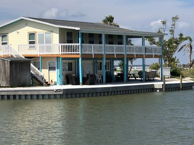 Home on Copano bay waterfront