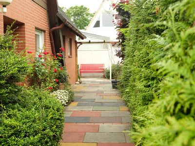 Photo for Top renovated holiday semi-detached house with garden near the beach