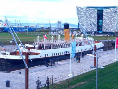 Photo for TITANIC:150+ 5 Star Reviews for 7 Guests | 1min walk from Titanic history