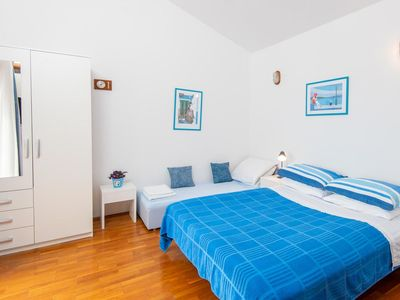 Photo for Studio flat with balcony and sea view Viganj (Pelješac)
