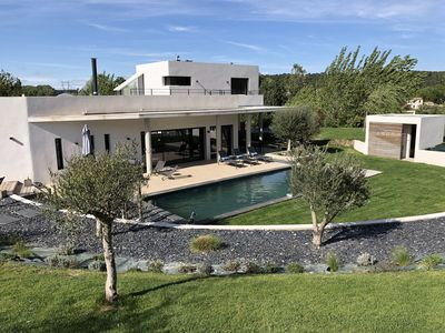 Photo for New architect villa for rent Aix en Provence (Cabries) for 8 people