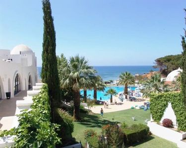 Photo for Vacation Apartment at Hotel Oura View Beach Club 5 *
