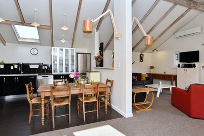 Open plan living / dining area