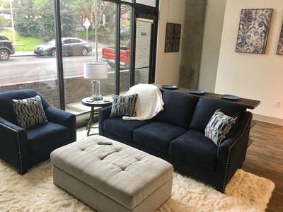Photo for One bedroom loft, sleeps up to 6, minutes to downtown and Broadway!