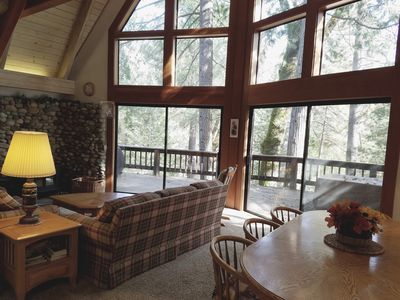 Photo for River View A-Frame Cabin in Yosemite National Park