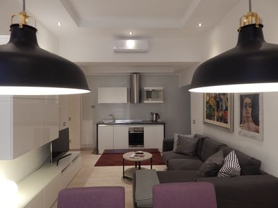 Photo for NEW OPENING LUXURY APARTMENT CLOSE TO THE VATICAN AND METRO STOP WIFI / AC