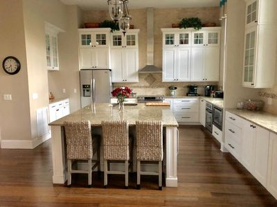 Photo for Newly Renovated! Open Floor Plan! Walk to Beach, Amenity Cards! Sleeps 12!