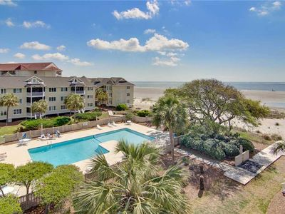 Photo for Partial Ocean & Pool Views From Screened Porch & Widow's Walk!